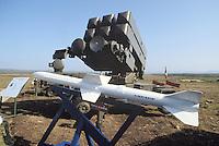 - Italian Air Force, anti aircraft missile launcher Spada with Aspide missiles....- Aeronautica Militare Italia, lanciamissili antiaereo Spada con missili Aspide....