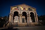 Church of all nations in Jerusalem Sunday, March 24 2013.  Photo by Eyal Warshavsky.