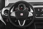 Car pictures of steering wheel view of a 2014 Seat MII Style 5 Door Hatchback 2WD Steering Wheel