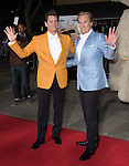 Jim Carrey and Jeff Daniels attends The Universal Pictures L.A. premiere of Dumb and Dumber To held at The Regency Village Theatre in Westwood, California on November 03,2014                                                                               © 2014 Hollywood Press Agency