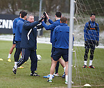 High fives all round for gaffer Ally McCoist