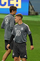 Joshua Kimmich (Deutschland Germany)<br /> - 09.10.2020: Abschlusstraining Deutschland, Olympiastadion Kiew DISCLAIMER: DFB regulations prohibit any use of photographs as image sequences and/or quasi-video.