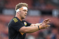 27th March 2021; Hamilton, New Zealand;  Sam Cane during warm up.<br /> Chiefs versus Blues, Super Rugby  AOTEAROA, FMG Waikato Stadium, Hamilton, New Zealand.