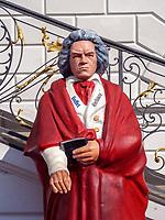 Beethoven, Altes Rathaus, Bonn, Nordrhein-Westfalen, Deutschland, Europa<br /> Beethoven, Old townhall, Bonn, North Rhine-Westphalian, Germany, Europe