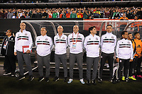 EAST RUTHERFORD, NJ - SEPTEMBER 7: Mexico National Team coaching staff during a game between Mexico and USMNT at MetLife Stadium on September 6, 2019 in East Rutherford, New Jersey.