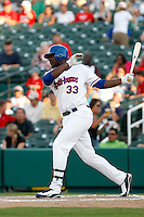 Chris Carter - Midland Rockhounds.2009 Texas League All-Star game held at Dr. Pepper Ballpark, Frisco, TX - 07/01/2009. The game was won by the North Division, 2-1..Photo by:  Bill Mitchell/Four Seam Images