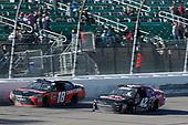 #18: Ryan Preece, Joe Gibbs Racing, Toyota Camry Craftsman #42: John Hunter Nemechek, Chip Ganassi Racing, Chevrolet Camaro Chevrolet Fire Alarm Services, Inc.
