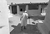 - Northern Sudan, interior of a house in Tombos area, along the Nilo<br /> <br /> - Sudan settentrionale, interno di una casa nella zona di Tombos, lungo il Nilo