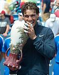 Rafael Nadal (ESP)  Wins in Final Against John Isner (USA) 7-6(8), 7-6(3)