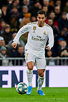 Eden Hazard of Real Madrid during La Liga match between Real Madrid and Real Sociedad at Santiago Bernabeu Stadium in Madrid, Spain. November 23, 2019. (ALTERPHOTOS/A. Perez Meca)