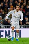 Eden Hazard of Real Madrid during La Liga match between Real Madrid and Real Sociedad at Santiago Bernabeu Stadium in Madrid, Spain. November 23, 2019. (ALTERPHOTOS/A. Perez Meca)