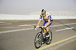 Kevin Van Melsen (BEL) Intermarché-Wanty-Gobert Matériaux on the final climb of Stage 3 of the 2021 UAE Tour running 166km from Al Ain to Jebel Hafeet, Abu Dhabi, UAE. 23rd February 2021.  <br /> Picture: Eoin Clarke | Cyclefile<br /> <br /> All photos usage must carry mandatory copyright credit (© Cyclefile | Eoin Clarke)
