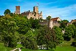 Deutschland, Baden-Wuerttemberg, Markgraefler Land, Loerrach, Burgruine Roetteln | Germany, Baden-Wuerttemberg, Markgraefler Land, Loerrach, castle ruin Roetteln