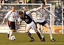 19/03/2005         Copyright Pic : James Stewart.File Name : jspa19_raith_v_falkirk.SCOTT CRABBE GETS AWAY FROM FORMER TEAM MATE KEVVIN JAMES.....Payments to :.James Stewart Photo Agency 19 Carronlea Drive, Falkirk. FK2 8DN      Vat Reg No. 607 6932 25.Office     : +44 (0)1324 570906     .Mobile   : +44 (0)7721 416997.Fax         : +44 (0)1324 570906.E-mail  :  jim@jspa.co.uk.If you require further information then contact Jim Stewart on any of the numbers above.........A