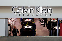 ELIZABETH, NEW JERSEY - MARCH 03: A woman leaves a Calvin Klein store in a local mall on March 03, 2021 in Elizabeth, New Jersey. According projections the EE.UU economy rises 5,5% in 2021. where the excess savings in North American households will return to the market after vaccination and boosting consumption. (Photo by VIEWpress)
