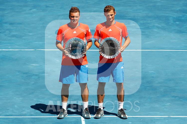 ATP Doubles Final Robert Lindstedt and Horia Tecau vs Mariusz Fyrstenberg and Marcin Matwowski  during Mutua Madrid Open 2012 on may 13th 2012...Photo: Cesar Cebolla / ALFAQUI