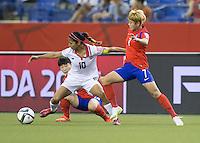 Costa Rica vs Korea Republic, June 13, 2015