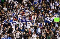 Honduras fans.USA vs Honduras, Saturday Jan. 23, 2010 at the Home Depot Center in Carson, California. Honduras 3, USA 1.