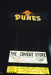 The Comedy Store at The Dunes Hotel in Las Vegas 1987