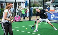 Den Bosch, Netherlands, 16 June, 2018, Tennis, Libema Open, Padel, Semifinal Mixed<br /> Photo: Henk Koster/tennisimages.com
