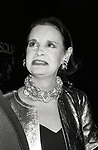 Gloria Vanderbilt attending a Broadway Opening on on December 1, 1985 at Circle in the Square Theatre in New York City.