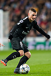 Marco Verratti of Paris Saint Germain in action during the UEFA Champions League 2017-18 Round of 16 (1st leg) match between Real Madrid vs Paris Saint Germain at Estadio Santiago Bernabeu on February 14 2018 in Madrid, Spain. Photo by Diego Souto / Power Sport Images