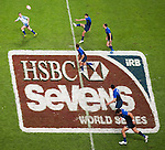 Australia play France on Day 1 of the 2012 Cathay Pacific / HSBC Hong Kong Sevens at the Hong Kong Stadium in Hong Kong, China on 23rd March 2012. Photo © Victor Fraile  / The Power of Sport Images