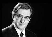 Guy Latraverse ,circa 1990<br /> <br /> PHOTO : Agence Quebec Presse  -Denis Alix