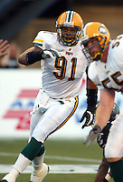 Dorian Boose Edmonton Eskimos 2003. Photo copyright Scott Grant.