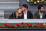 Alvaro Morata and his grirlfriend, Alice Campello during the Mutua Madrid Open Tennis 2017 at Caja Magica in Madrid, May 12, 2017. Spain.
