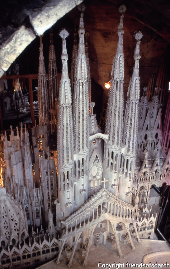 Sagrada Familia is a large unfinished Roman Catholic minor basilica in the Eixample district of Barcelona, Catalonia, Spain. Designed by the Spanish architect Antoni Gaudí, Construction started in 1882.