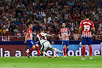 Atletico de Madrid's Koke Resurreccion and Rayo Vallecano's Jose Angel Pozo during La Liga match. August 25, 2018. (ALTERPHOTOS/A. Perez Meca)