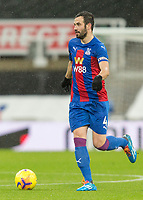 2nd February 2021; St James Park, Newcastle, Tyne and Wear, England; English Premier League Football, Newcastle United versus Crystal Palace; Luka Milivojevic of Crystal Palace