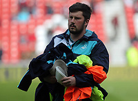 Mike Eames prior to the Premier League match between Sunderland and Swansea City at the Stadium of Light, Sunderland, England, UK. Saturday 13 May 2017