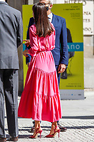 MADRID, SPAIN - June 09: **NO SPAIN** Queen Letizia of Spain attends the Opening of the exhibition 'Berlanguiano. Luis Garcia Berlanga (1921-2021)' at Real Academia de San Fernando on June 9, 2021 in Madrid, Spain. <br /> CAP/MPI/RJO<br /> ©RJO/MPI/Capital Pictures