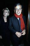 ENRICA BONACCORTI E CHICCO TESTA<br /> PRESENTAZIONE CALENDARIO BATTISTONI <br /> ROMA 2000