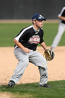 January 16, 2010:  Brad Young (Pinole, CA) of the Baseball Factory Northwest Team during the 2010 Under Armour Pre-Season All-America Tournament at Kino Sports Complex in Tucson, AZ.  Photo By Mike Janes/Four Seam Images