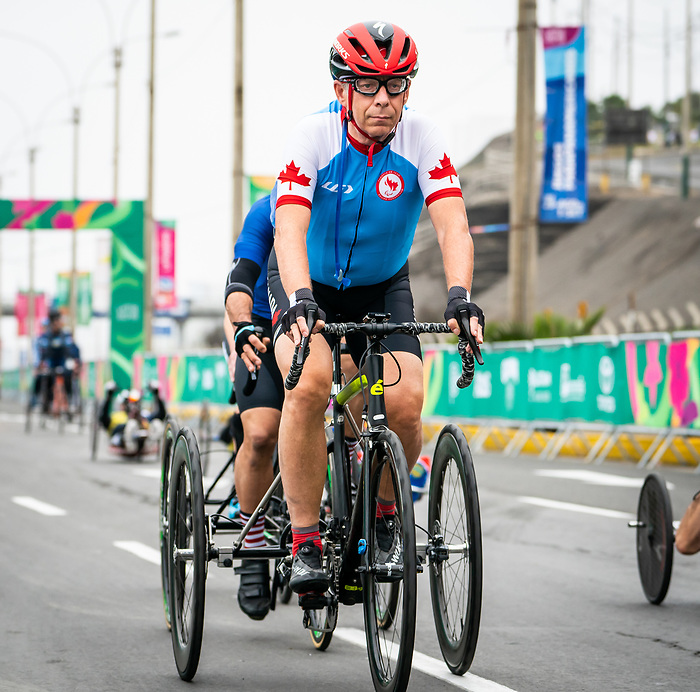 Micheal Shelter - Lima 2019. Para Cycling // Paracyclisme.<br />