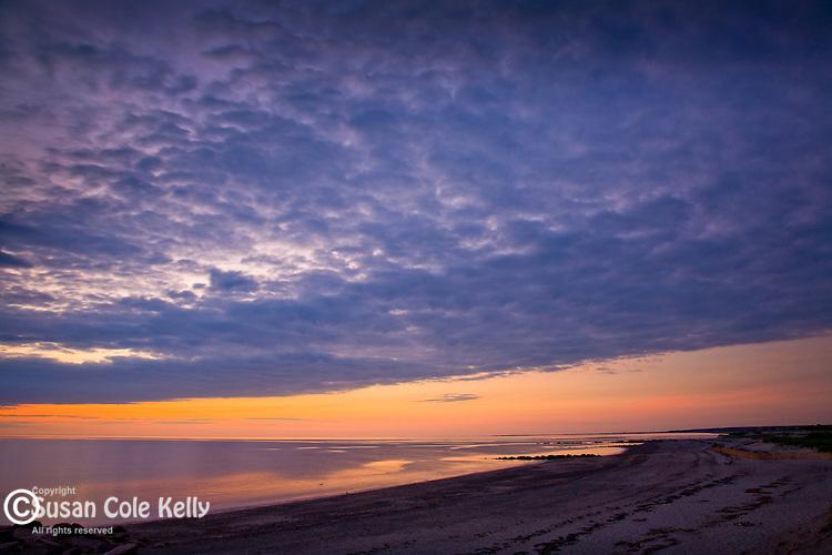 Sunrise at Town Neck Beach, Sandwich, Cape Cod, MA, USA