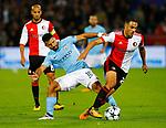 13-09-2017,Rotterdam, de Kuip, Voetbal, Champions League, Feyenoord-Manchester City 0-4<br /> foto Michael Kooren<br /> Amrabat, Aguero