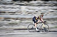 Dylan Groenewegen (NED/Jumbo-Visma) descending the Passo Della Calla<br /> <br /> 104th Giro d'Italia 2021 (2.UWT)<br /> Stage 12 from Siena to Bagno di Romagna (212km)<br /> <br /> ©kramon