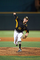 Bradenton Marauders relief pitcher Tanner Anderson (41) during a game against the Fort Myers Miracle on August 3, 2016 at McKechnie Field in Bradenton, Florida.  Bradenton defeated Fort Myers 9-5.  (Mike Janes/Four Seam Images)