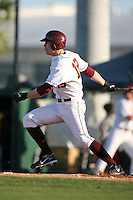 February 20, 2009:  Outfielder Matt Nohelty (19) of the University of Minnesota during the Big East-Big Ten Challenge at Jack Russell Stadium in Clearwater, FL.  Photo by:  Mike Janes/Four Seam Images