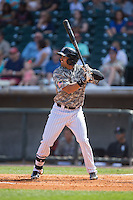 Christian Marrero (24) of the Birmingham Barons at bat against the Tennessee Smokies at Regions Field on May 3, 2015 in Birmingham, Alabama.  The Smokies defeated the Barons 3-0.  (Brian Westerholt/Four Seam Images)