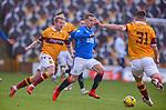 17.01.2021 Motherwell v Rangers: Steven Davis's 300th game for Rangers