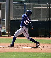 Jose Acosta - Texas Rangers 2021 extended spring training (Bill Mitchell)