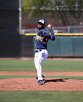 Frank Lopez - San Diego Padres 2019 extended spring training (Bill Mitchell)