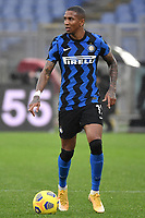 Ashley Young of FC Internazionale in action during the Serie A football match between AS Roma and FC Internazionale at Olimpico stadium in Roma (Italy), January 10th, 2021. Photo Andrea Staccioli / Insidefoto