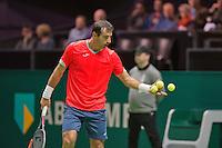 Rotterdam, The Netherlands, Februari 8, 2016,  ABNAMROWTT, Ivan Dodig (CRO)<br /> Photo: Tennisimages/Henk Koster