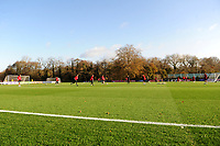 Pictured: A general view of the Wales Training Session at The Vale Resort in Cardiff, Wales, UK. Monday 11 November 2019